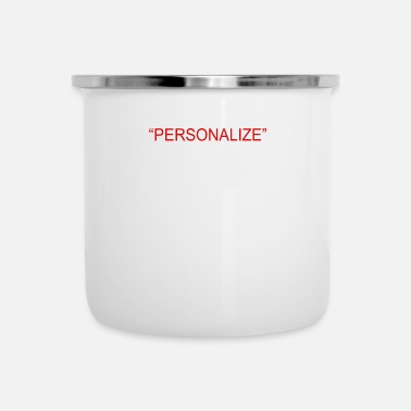 Person PERSONALIZE - Enamel Mug