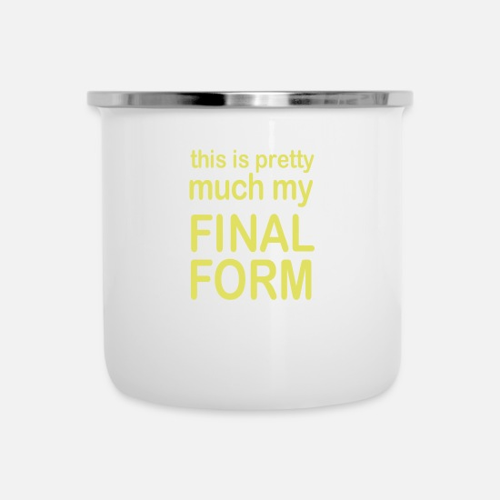 Final Thesis Mugs & Drinkware - Final Form - Enamel Mug white