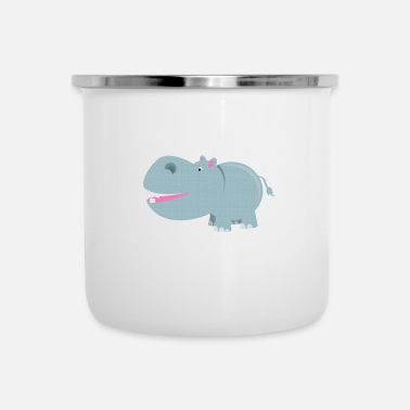 Clip Art kisspng hippopotamus cartoon clip art hippo 5a80f9 - Camper Mug
