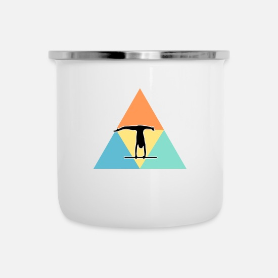 Athletics Mugs & Drinkware - Athlet - Enamel Mug white