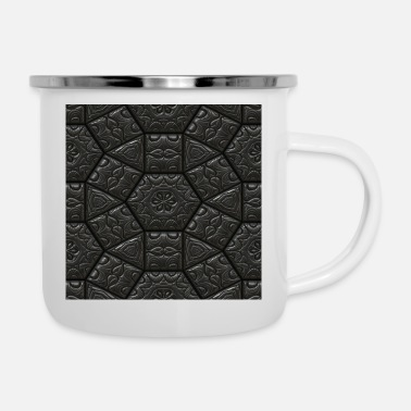 Abstract abstract - Enamel Mug