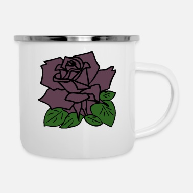 Rose The Rose - Enamel Mug