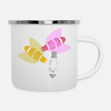 Insect Colorful Insect - Enamel Mug