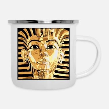 Egypt King Tut - Enamel Mug