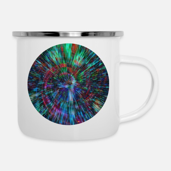 Supernova Mugs & Drinkware - Energies universe - Enamel Mug white