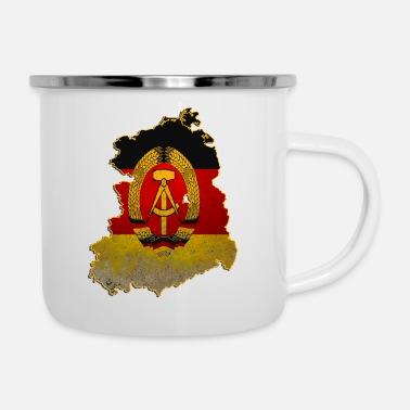 Shop East Germany Enamel Mugs online | Spreadshirt