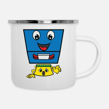Monitoring CPU Heat Sink Cooler Control Processing Unit - Enamel Mug