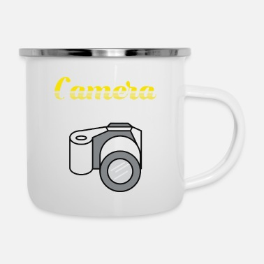 Mobile Addict - Taking a Selfportrait With Your Mobile - Enamel Mug