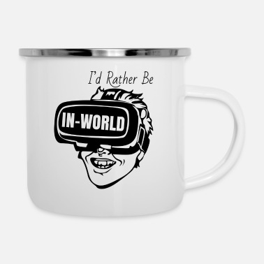 World IN WORLD - Enamel Mug