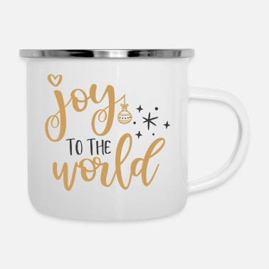 Joy Joy to the world - Enamel Mug
