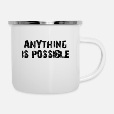 Success (TOP) ANYTHING IS POSSIBLE SUCCESS MINDSET GYM - Enamel Mug