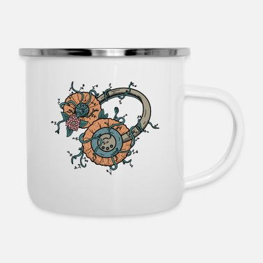 Natural Natural Music - Enamel Mug