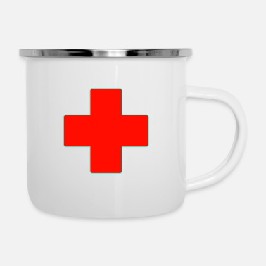 Plus DOCTOR PLUS - Enamel Mug