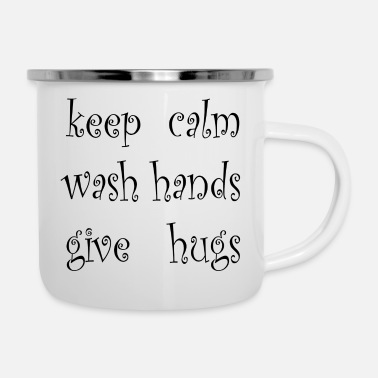 Keep Calm keep calm - Enamel Mug