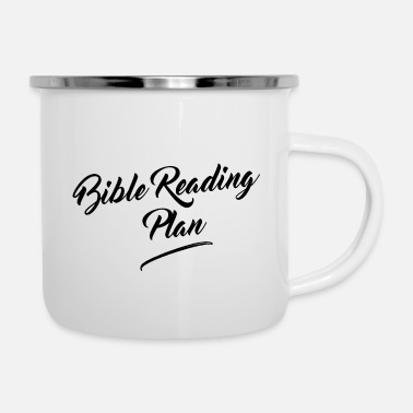 God Bible Reading Plan - Enamel Mug