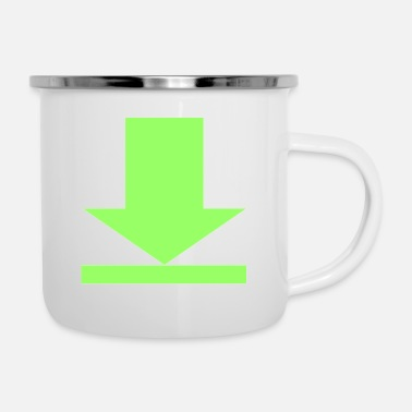 Download download - Enamel Mug