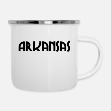 Usa Arkansas - Little Rock - US State - United States - Enamel Mug
