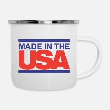 Usa Made in the USA - Enamel Mug