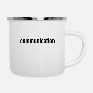 Communism Communication - Enamel Mug