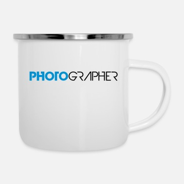 Cool Text Cool Text Design Photographer - Enamel Mug