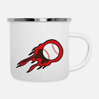Bass Throw the Heat Baseball Home Run Geschenk - Camper Mug