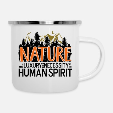Luxury Nature is not a luxury - Camper Mug