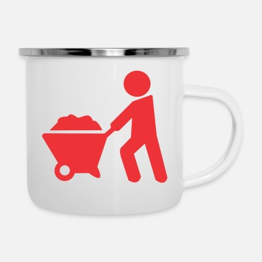 Sand carrying sand - Camper Mug