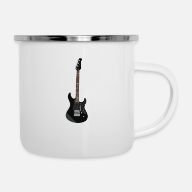 Electricity Electric guitar - Enamel Mug