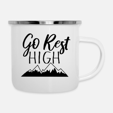 go rest high - Camper Mug
