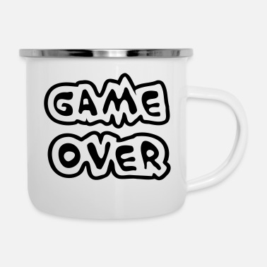 Over Game Over - Enamel Mug