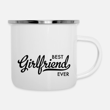Girlfriend Girlfriend - Enamel Mug