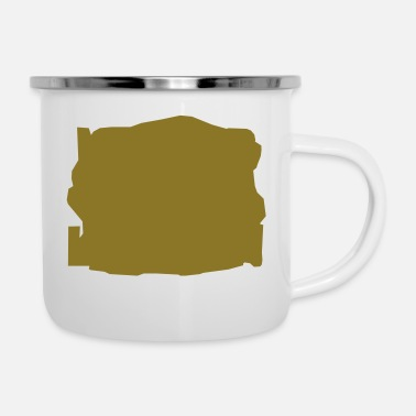 Map map - Enamel Mug