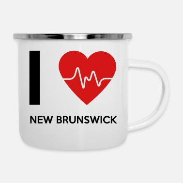New Brunswick I Love New Brunswick - Enamel Mug