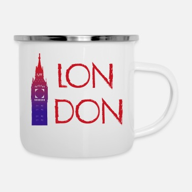 London London - Enamel Mug