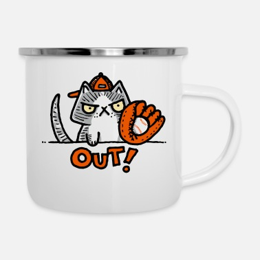 Out Out - Enamel Mug