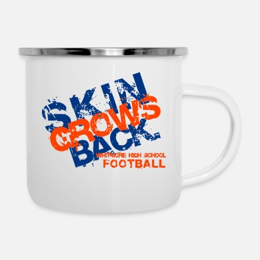 School WHITMORE HIGH SCHOOL FOOTBALL - Enamel Mug