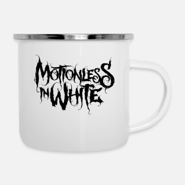 Motionless In White - Enamel Mug