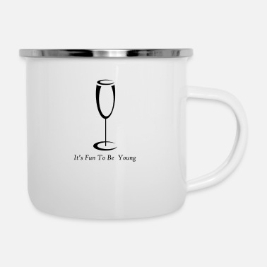 Occasion Join me happy occasion - Enamel Mug