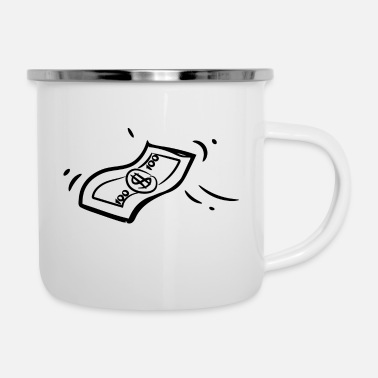Sheet A sheet of money - Enamel Mug