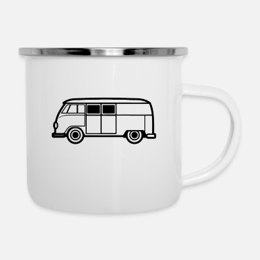 Garage Music Garage car - Enamel Mug