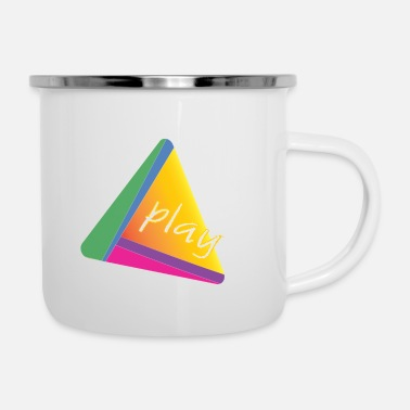 Playing play - Enamel Mug