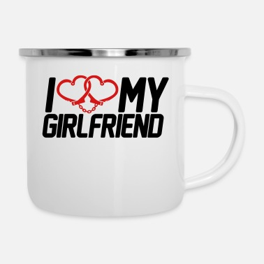 I Love My Girlfriend I Love my Girlfriend - Enamel Mug