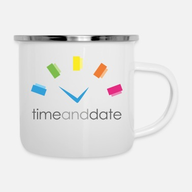 Date Of Birth Time and Date - Enamel Mug