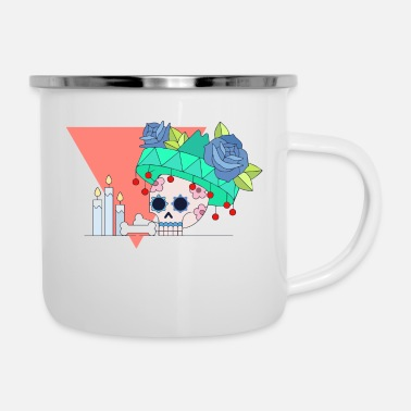 Day Of The Dead Day Of The Deads - Enamel Mug