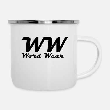 Wear Word Wear - Enamel Mug