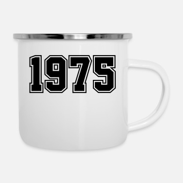 Year Of Birth 1975 | Year of Birth | Birth Year | Birthday - Enamel Mug