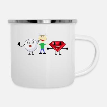Shop Snowball Camper Mug online   Spreadshirt