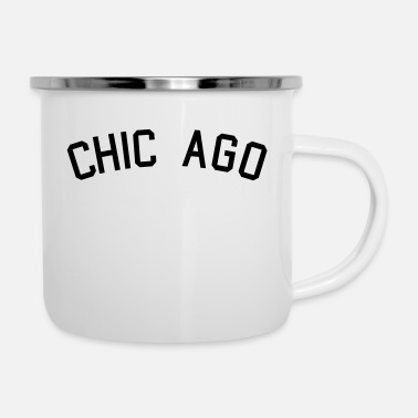 Chicago CHICAGO ZIP UP - Enamel Mug