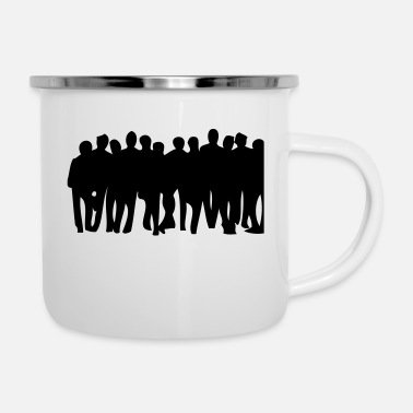 People people - Enamel Mug