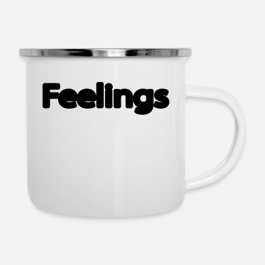 Feeling feelings - Enamel Mug